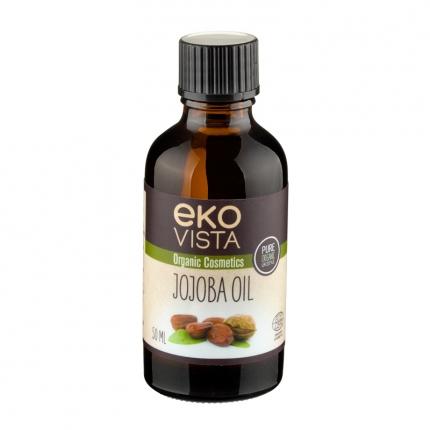 Ekovista Jojoba Oil -jojobaöljy, luomu, 50 ml