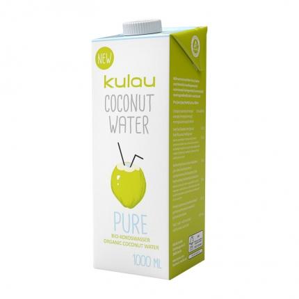Kulau Pure -kookosvesi, luomu, 1000 ml