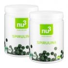 nu3 Spirulina -tabletit, luomu, tuplapakkaus, 2 x 500 g