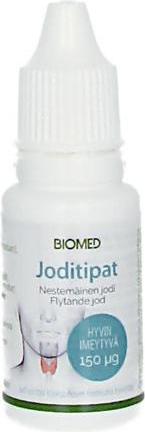 Biomed Aktiiviset Joditipat (Parasta ennen 31.05.2018)