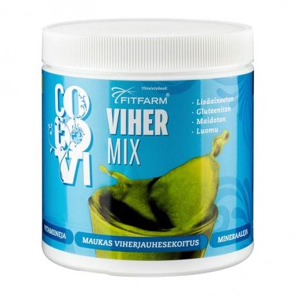 CocoVi Vihermix -jauhe, luomu, 350 g