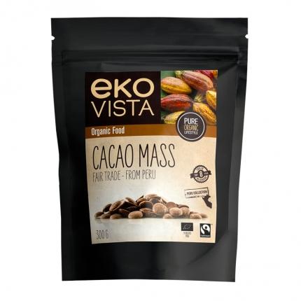 Ekovista Cacao Mass -kaakaomassanapit, luomu, 300 ml