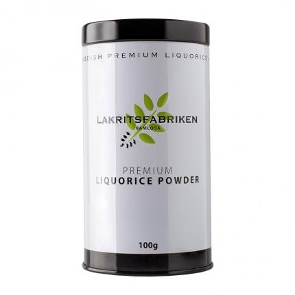 Lakritsfabriken Premium -lakritsijauhe, 100 g