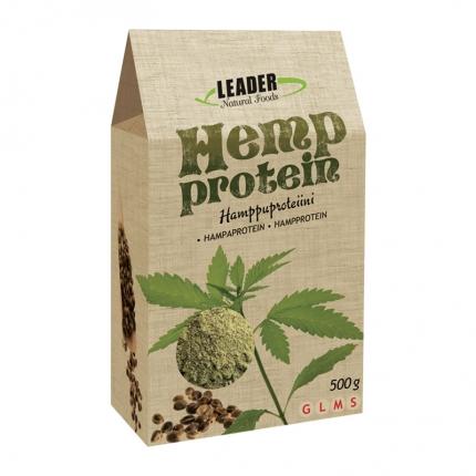 Leader Natural Foods Hamppuproteiini -jauhe, 500 g