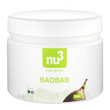 nu3 Baobab -jauhe, luomu, 200 g