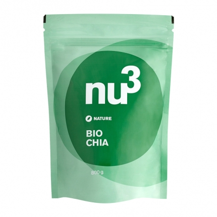 nu3 Chia-siemenet, luomu, 800 g