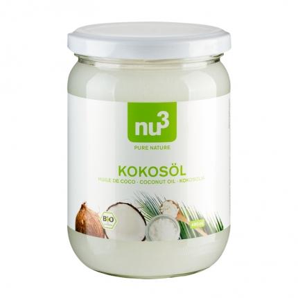 nu3 Kookosöljy, luomu, 490 ml