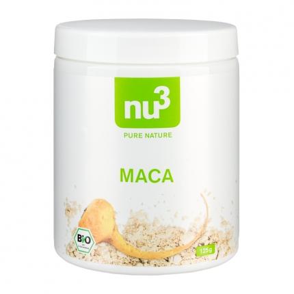 nu3 Maca-jauhe, luomu, 125 g