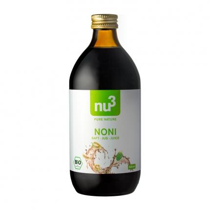 nu3 Noni-mehu, luomu, 500 ml