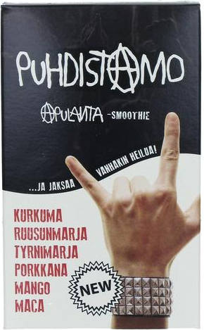 Puhdistamo Apulanta Smoothie (Parasta ennen 31.07.2018)