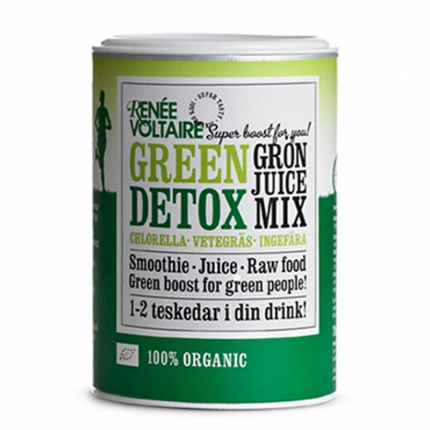 Renée Voltaire Superfood Mix Green Detox -jauhe, luomu, 100 g