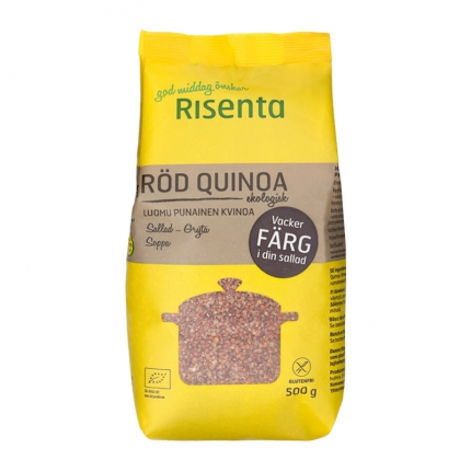 Risenta Punainen kvinoa, luomu, 500 g