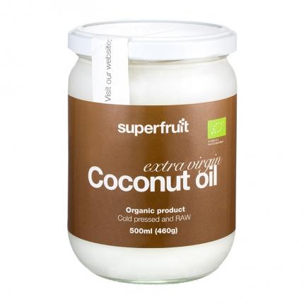 Superfruit Extra Virgin Kookosöljy, 450 ml