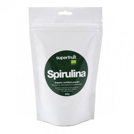 Superfruit Spirulina -jauhe, luomu, 200 g