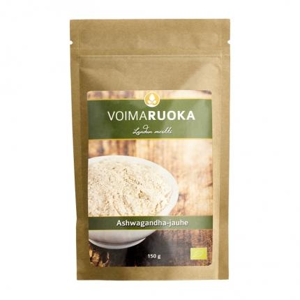 Voimaruoka Ashwagandha -jauhe, luomu, 150 g