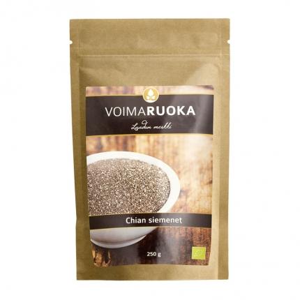 Voimaruoka Chia-siemenet, luomu, 250 g