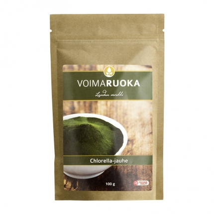 Voimaruoka Chlorella -jauhe, 100 g